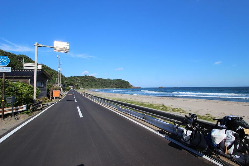 能登半島の道