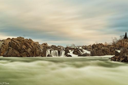 longexposure winter water clouds sunrise waterfall greatfalls rapids va potomacriver current 24105l policelyrics 5dii holeinmylife