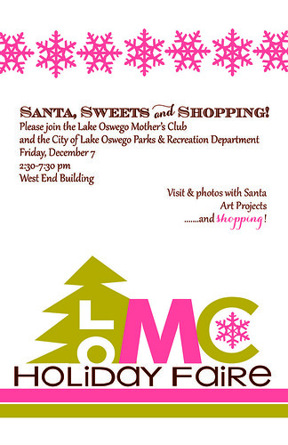Lake Oswego Mothers Club Holiday Faire