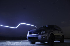 2008 Ford Escape Night Shoot