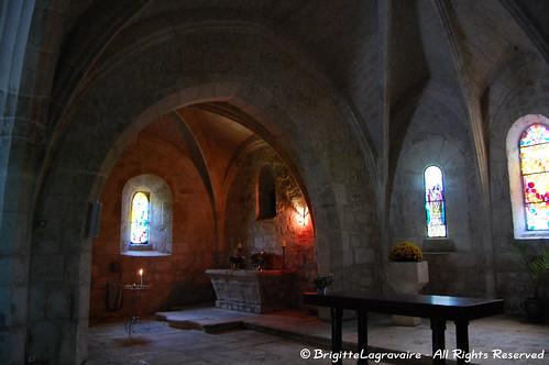 Bajamont, l'église St-Arnaud