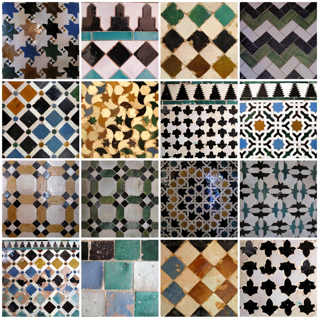 Patchwork al atoire de mosaic del sur carreaux de ciment cementine addict - Carreaux ciment patchwork ...