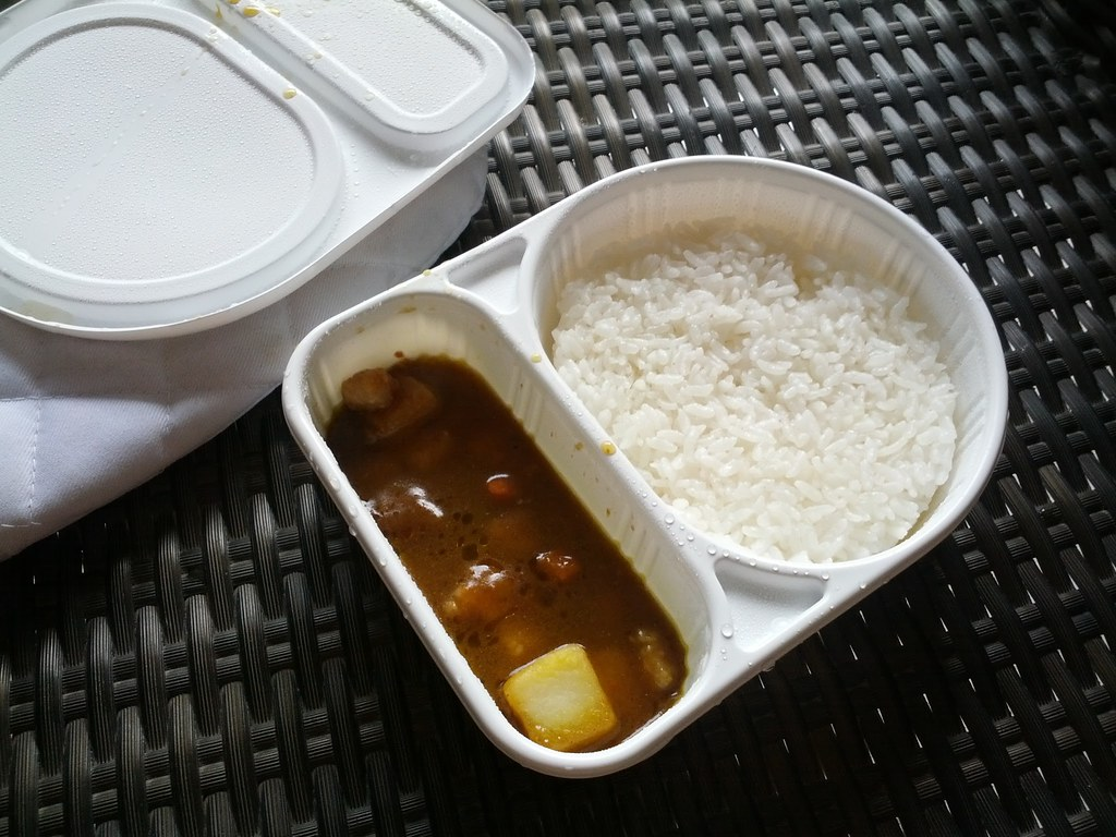 After Microwave2 / Bento Curry Rice at 7-11 Thai