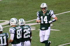 Greg McElroy Enters Game in His NFL Debut