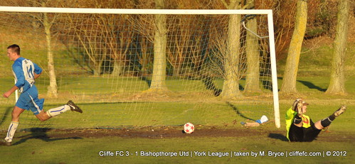 Cliffe FC 3 - 1 Bishopthorpe Utd 1Dec12