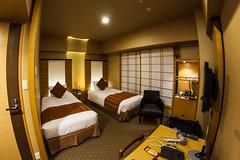 Our room at Hotel Niwa, Tokyo