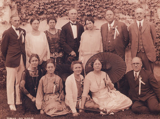 Pomona College class of 1898 at their 25th reunion in June 1923