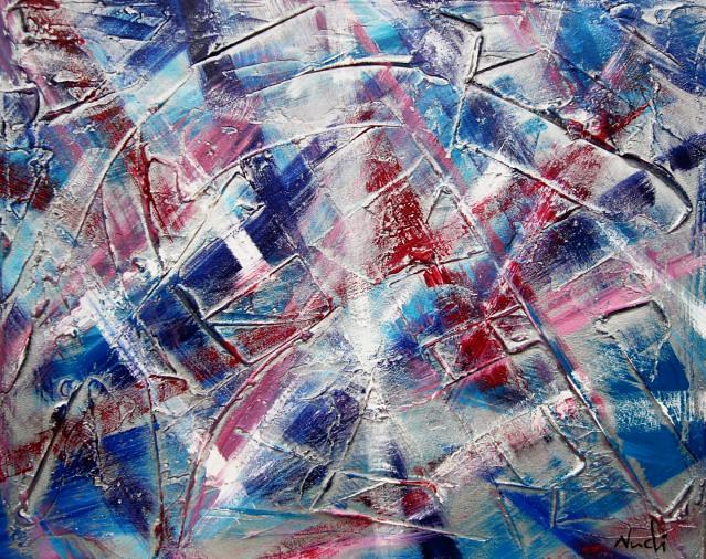 L'opera Piano bidimensionale multivario è un 'opera informale materica realizzata con tecnica mista, pasta acrilica base polvere di marmo e colori acrilici