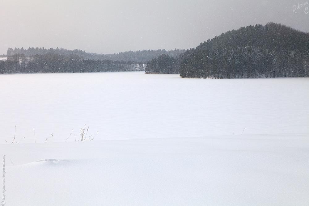 Масельгское озеро. Хижгора