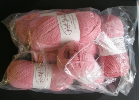 Knit Picks Stroll Glimmer, Carnation
