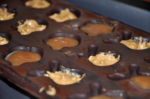 Chocolats fourrés de Noël
