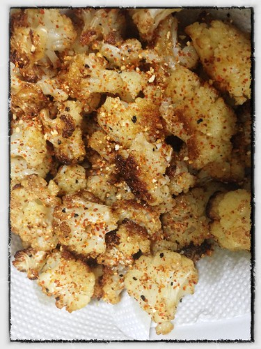 Roast Cauliflower with Yuzu Kosho