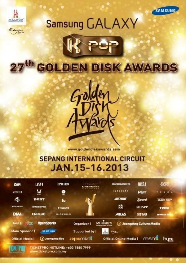 Samsung GALAXY The 27th Golden Disk Awards in Kuala Lumpur
