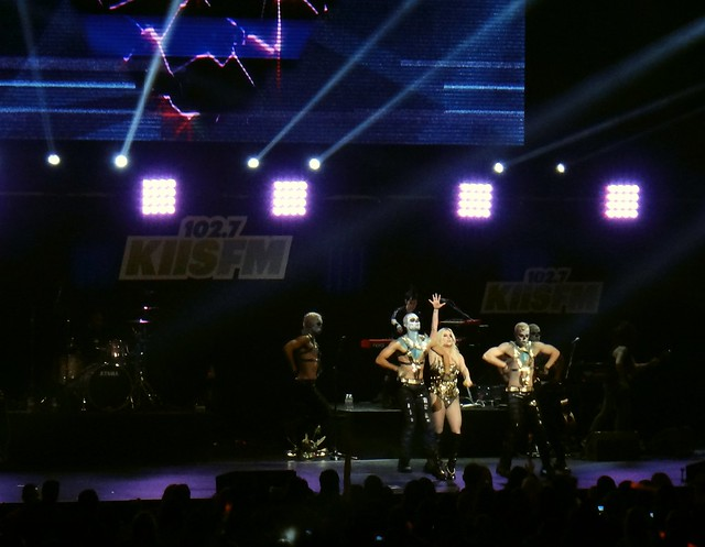 Ke$ha performing at The KIIS FM Jingle Ball 2012