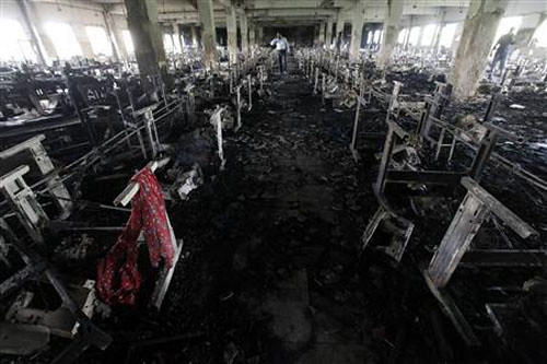 Tazreen Garment Factory Fire - 2012