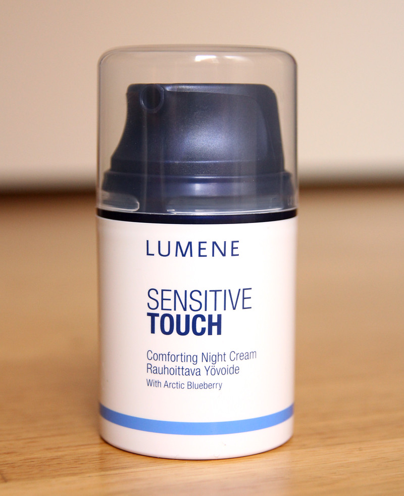 Lumene sensitive touch comforting night cream