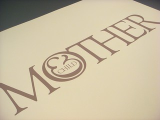 Lubalin poster set, print #5: Mother & Child poster