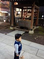 恵比寿神社にて 2012/12/9