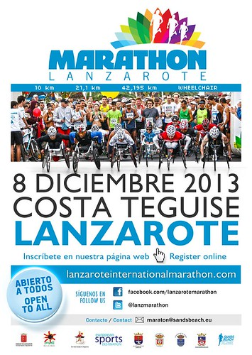 Lanzarote International Marathon 2013