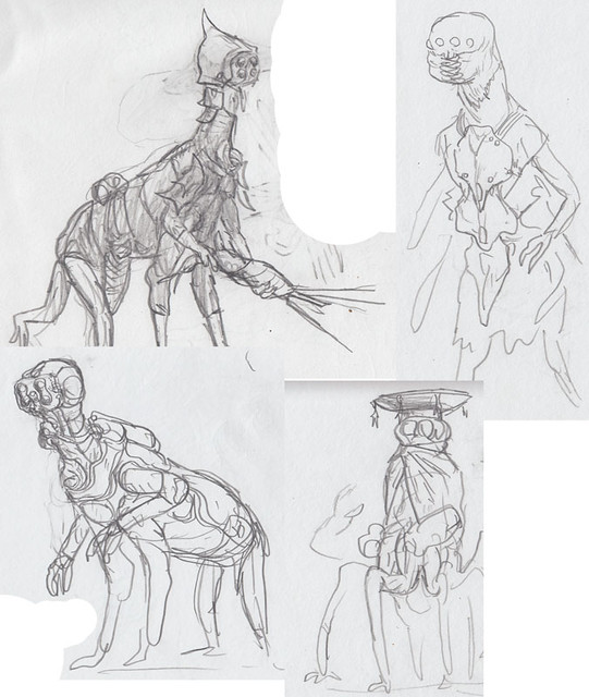 Qid-pid-and-alien-sketches