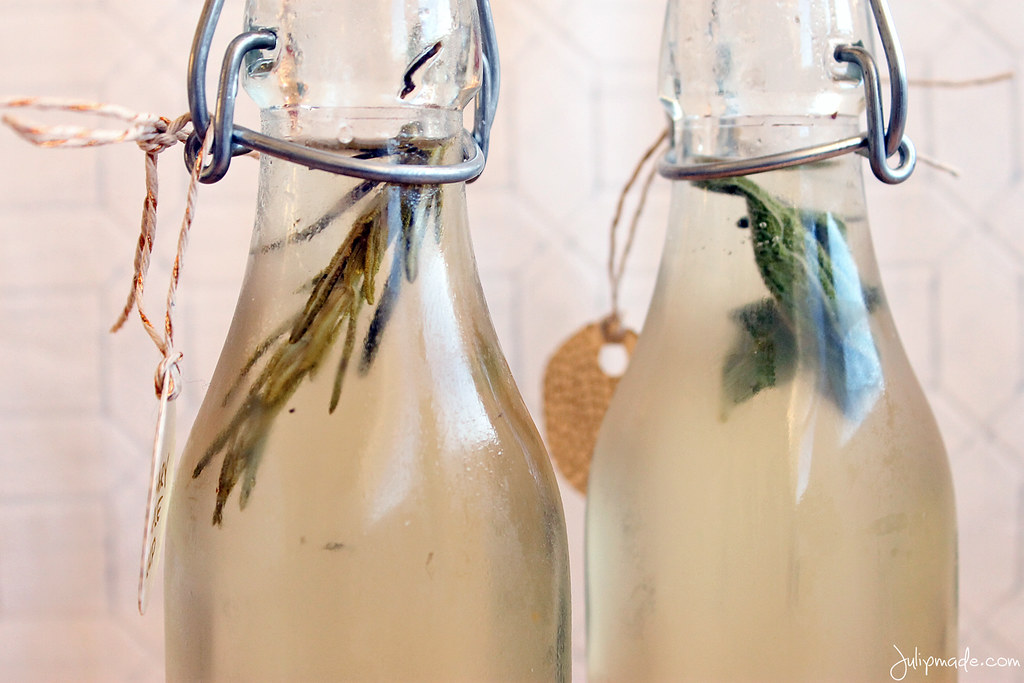 Julip Made herb simple syrup DIY holiday gifts3