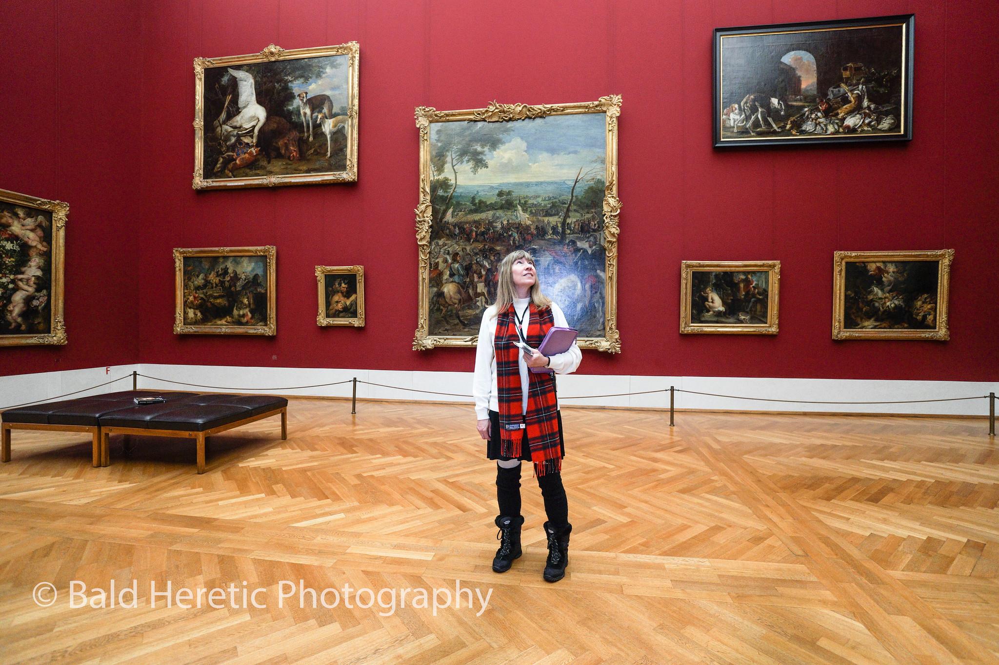 Cynthia @ The Alte Pinakothek