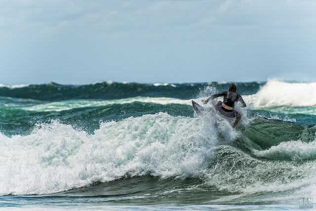 Surfing Burleigh #4