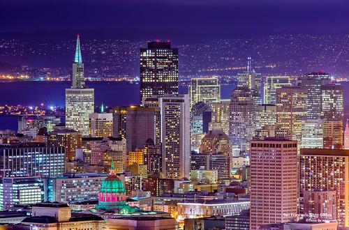 San Francisco Night Colors