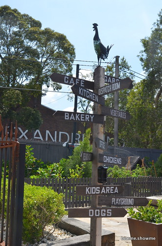 The Grounds of Alexandria - Signage