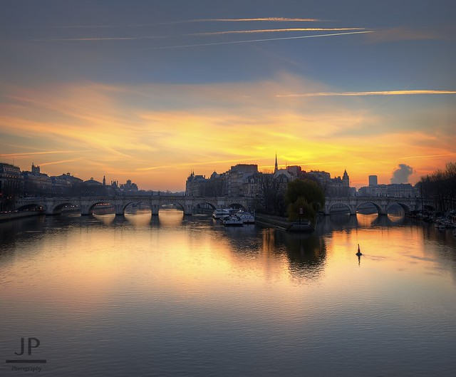 Paris, Sunrise