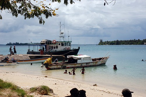 Kavieng waterfront