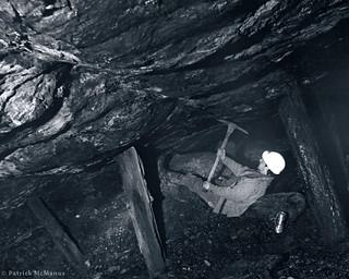 Newcastle - Coal Mine - Washington State