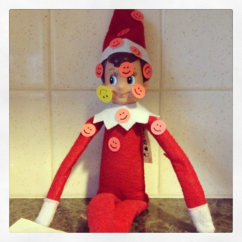 Smiling is my favorite! #elfontheshelf