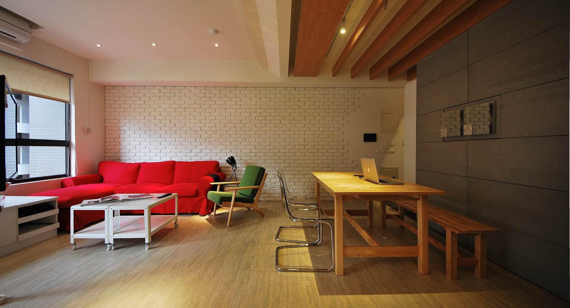 【住宅設計】淡水伊東市賴公館 - 美式Loft風格3