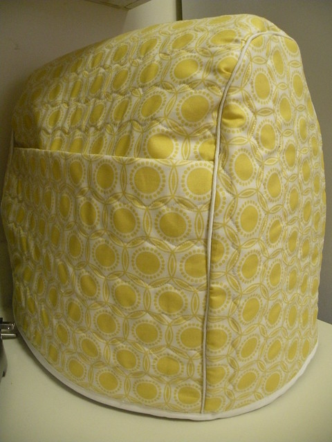Custom Kitchen Aid Mixer Cover with Joel Dewberry Heirloom Opal Dandelion