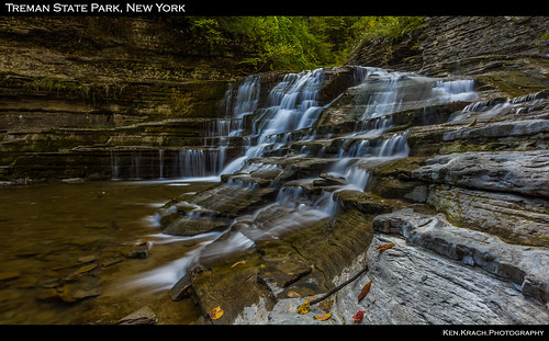 autumn newyork fall water waterfall tremanstatepark