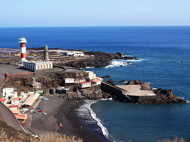 Lighthouses at Fuencaliente, La Palma