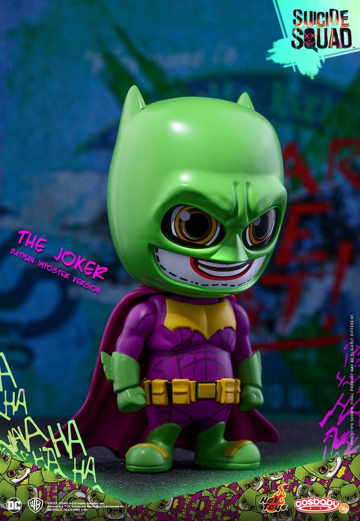 史上最花俏的偽蝙蝠俠來囉!!Hot Toys – COSB304 – 自殺突擊隊【偽蝙蝠俠版:小丑】The Joker Batman Imposter Ver. Cosbaby