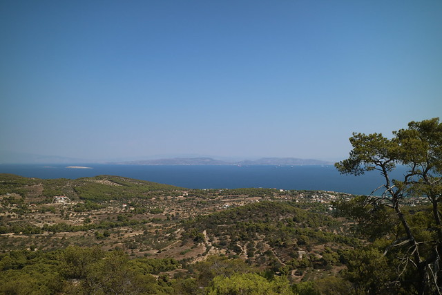 View from Temple of Aphaia