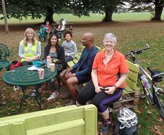 22 Juliet, Carissa, Leo, Jiten & Nicola Gunnersbury Cafe