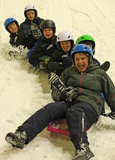 Fun on the slope