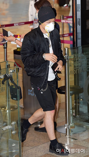 BIGBANG Gimpo Airport to Beijing PRESS 2015-06-05 002
