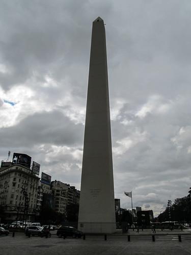Buenos Aires: la Avenida 9 de Julio et son obélisque