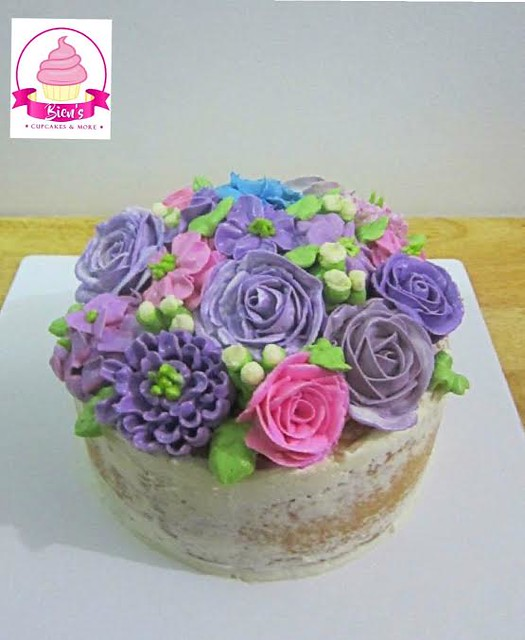 Floral Cake by Mae M. Mojares of Bien's Cupcakes & More