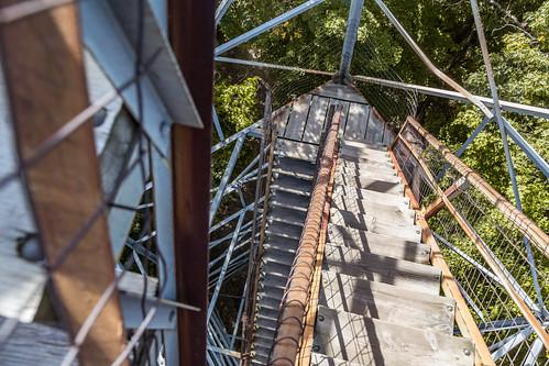 kathio kathiostatepark millelacskathio millelacskathiostatepark minnesota climb observationtower stairs onamia unitedstates us