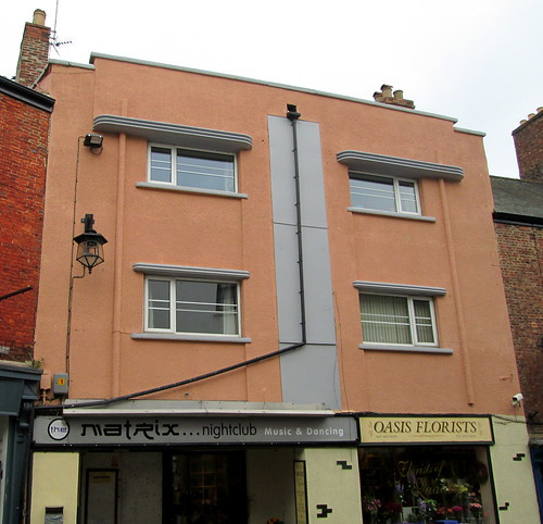 Art Deco Flats, Ripon, Yorkshire