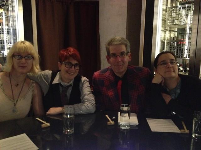 Charlie Jane Anders, Annalee Newitz, Scott Edelman, and Cecilia Tan