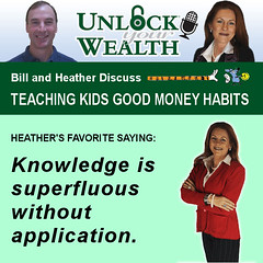 Bill and Heather on Unlock Your Wealth