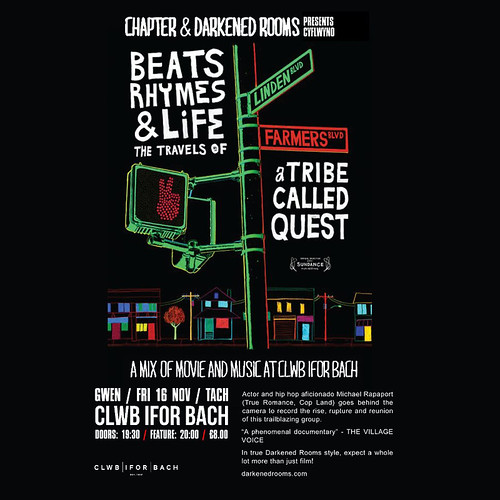 Beats, Rhymes & Life SQ Flyer