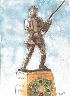 Bronze Soldier, Soldat de Bronze